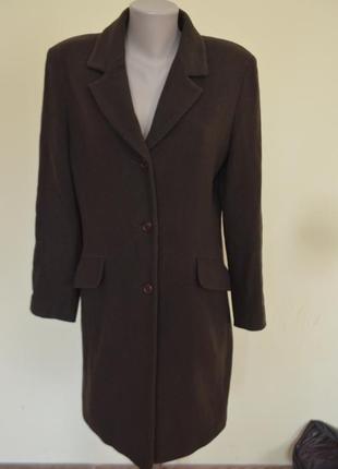 Очень классное стильное пальто классика шерсть 70% кашемир 10%