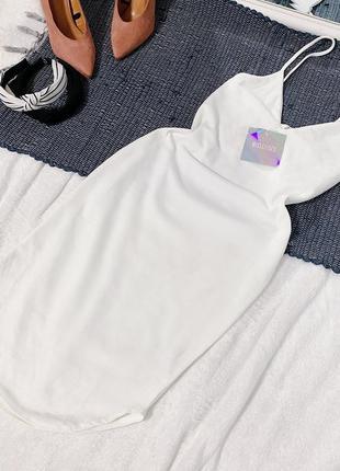 Новое белое платье missguided