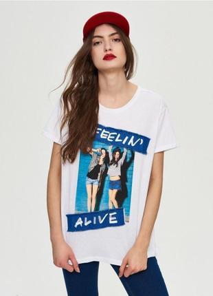 Женская футболка sinsay 1017