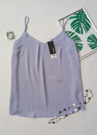 Шифоновая блуза на бретелях,  майка,  топ