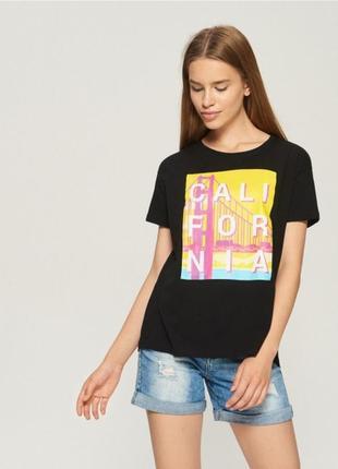 Женская футболка sinsay 1041