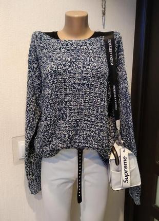 Шикарный стильный мягусенький брэндовый джемпер свитер пуловер