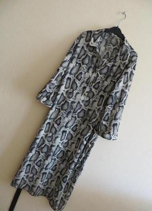 Платье-миди (р.xl )