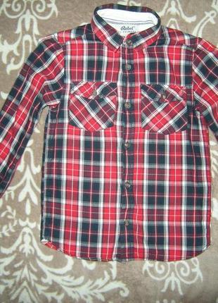 Рубашка на мальчика 5-7 лет!