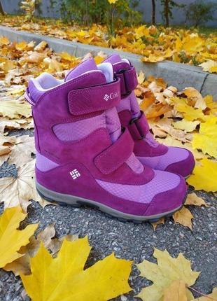 Новые зимние ботинки columbia parkers
