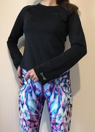 Лонгслив женский usa pro/long sleeve/спортивная кофта/fitness/t shirt/usa pro
