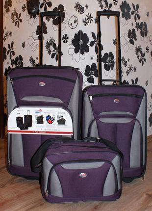 "Чемодан / набор чемоданов и сумок ""american tourister"" от ""samsonite"" (оригинал)"