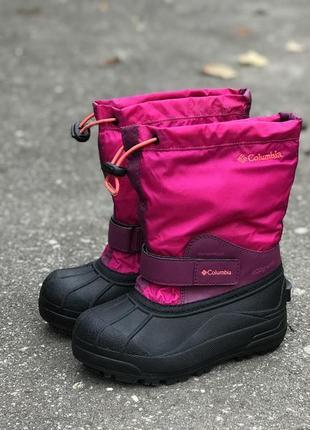Ботинки columbia waterproof 400 gram зимние детские оригинальные