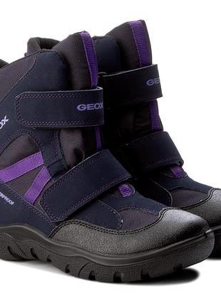 Ботинки зимние geox. оригинал gore-tex