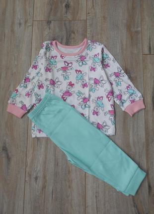 (6-9м) пижама george с минни (уценка)