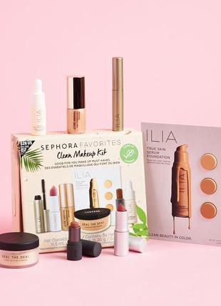 🔥шок цена! шикарный набор косметики sephora favorites: clean makeup kit