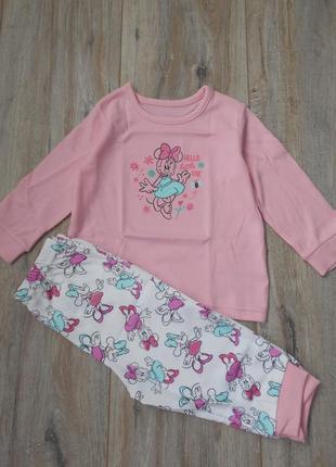 Пижама george с минни (6-9м)