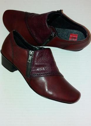 Ботильоны ботинки rieker р.37