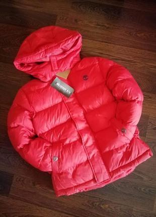 Теплая куртка от тимберланд!