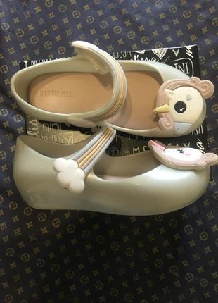 Mini melissa туфельки босоножки