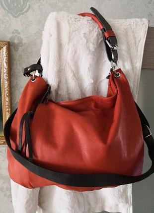 Красивейшая кожаная сумка cuirots, испания