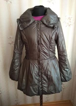 Стильная брендовая куртка redkо с пышной юбкой, р.м наш 46-48, ес