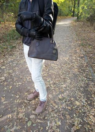Кожаная сумка vera pelle