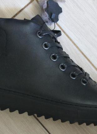 Зимние ботинки кеды утепленные кроссовки  вroni power , с 40-45р