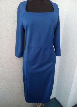 Vivenni красивое платье ярко-синего цвета