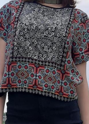 Футболка-блуза topshop, p.m