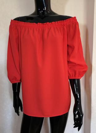 Блуза открытые плечи f&f