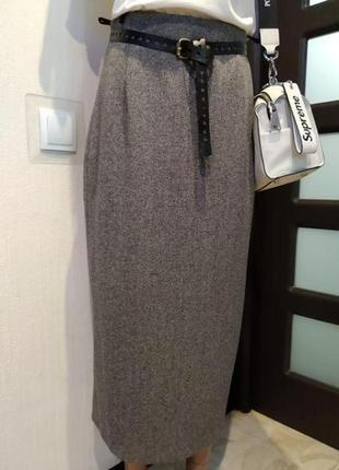 Шикарная стильная юбка карандаш макси