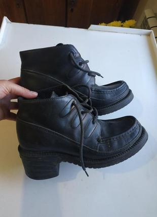 Грубые ботинки кожа 38 размер