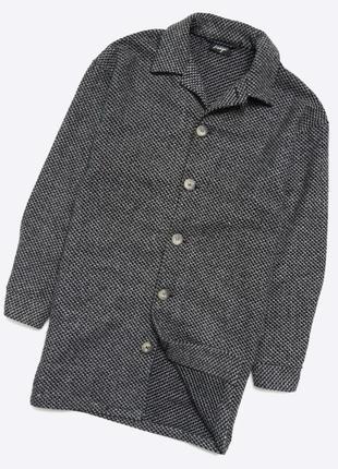 Reclaimed vintage m / стильное текстурное оверсайз пальто. осень-весна