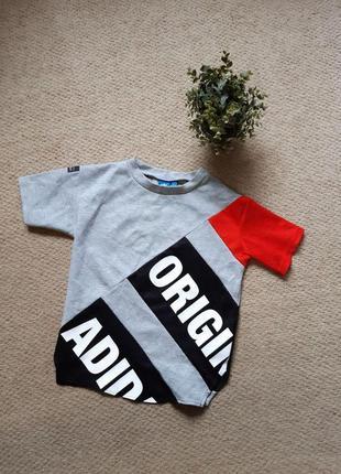 Женская футболка adidas originals equipment adv 91/17