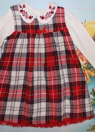 Очень красивое платье с боди на кроху 12-18мес(до 2х лет)