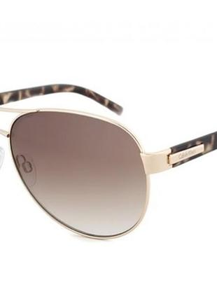 Солнцезащитные очки calvin klein r356s авиаторы