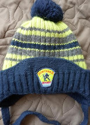 Шапка і шарф на зиму