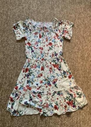 Легкое цветастое платьице белорусской фирмы panda