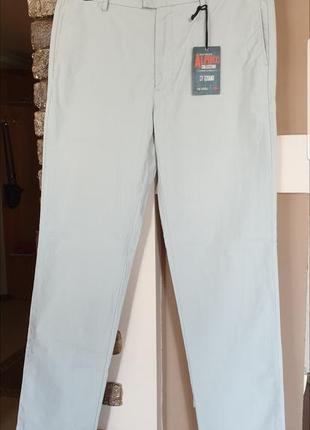 Брендовые мужские брюки dockers slim tapered. оригинал! новые. размер w36 × l34