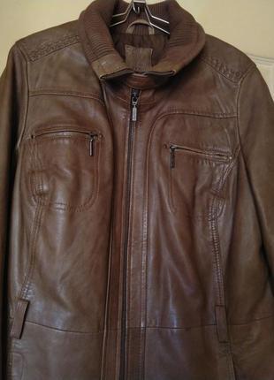 Кожаная куртка отменного качества