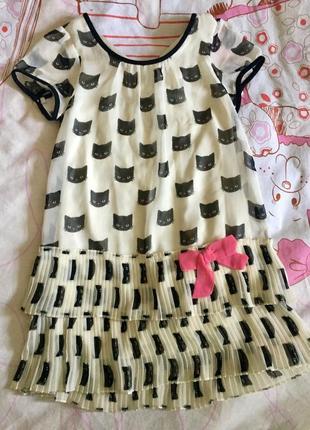 H&m платье на 4-6 лет