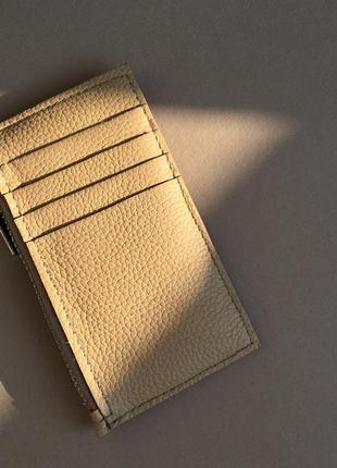 Кардхолдер cardholder мини кошелёк кожаный