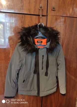Зимняя куртка diesel утеплена thinsulate isolant