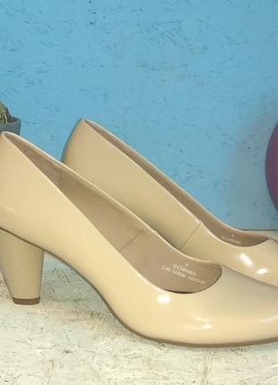 Новые кожаные туфли marks & spenser р 40