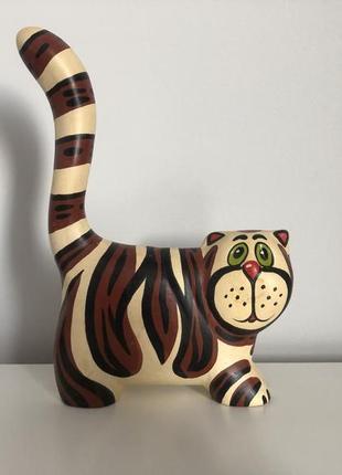 Статуэтка керамическая кот