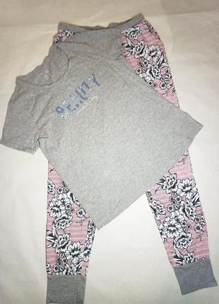 Красивая женская пижама, комплект для дома и отдыха р.с