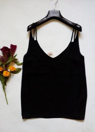 Базовая блуза на тонких бретелях 161 фото