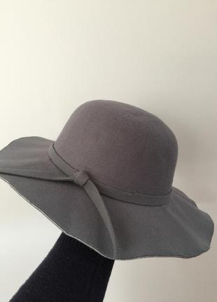 Стильная/теплая шляпка из фетра h&m