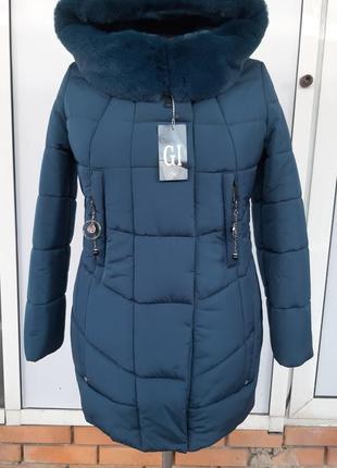 Зимняя куртка, пальто,плащ,пуховик с мехом,xl,xxl,3xl,4xl,5xl
