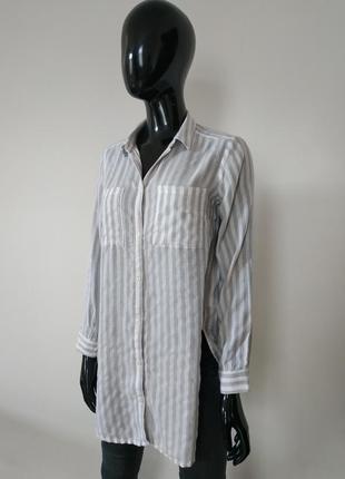 Удлененная блуза h&m