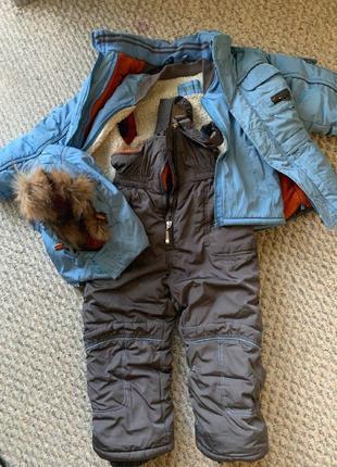 Комбез+ куртка на мальчика