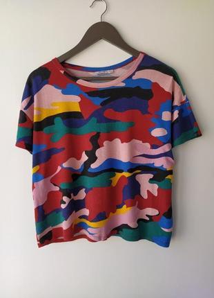 Красивая футболка  оверсайз zara