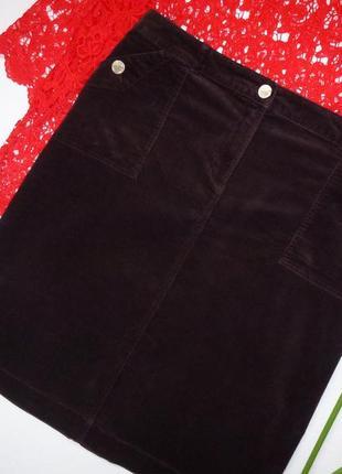 20 р-ра вельветовая юбка
