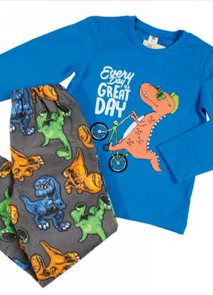 Пижама детская тм ярослав динозавр